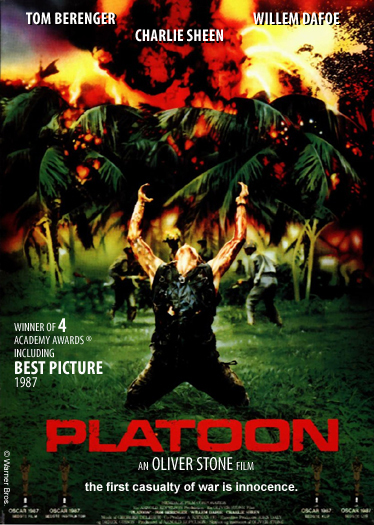 an analysis of platoon a film by oliver stone I'm writing a film analysis paper on platoon for a college seminar class i'm taking probably oliver stone would say, and meant to say in the film.