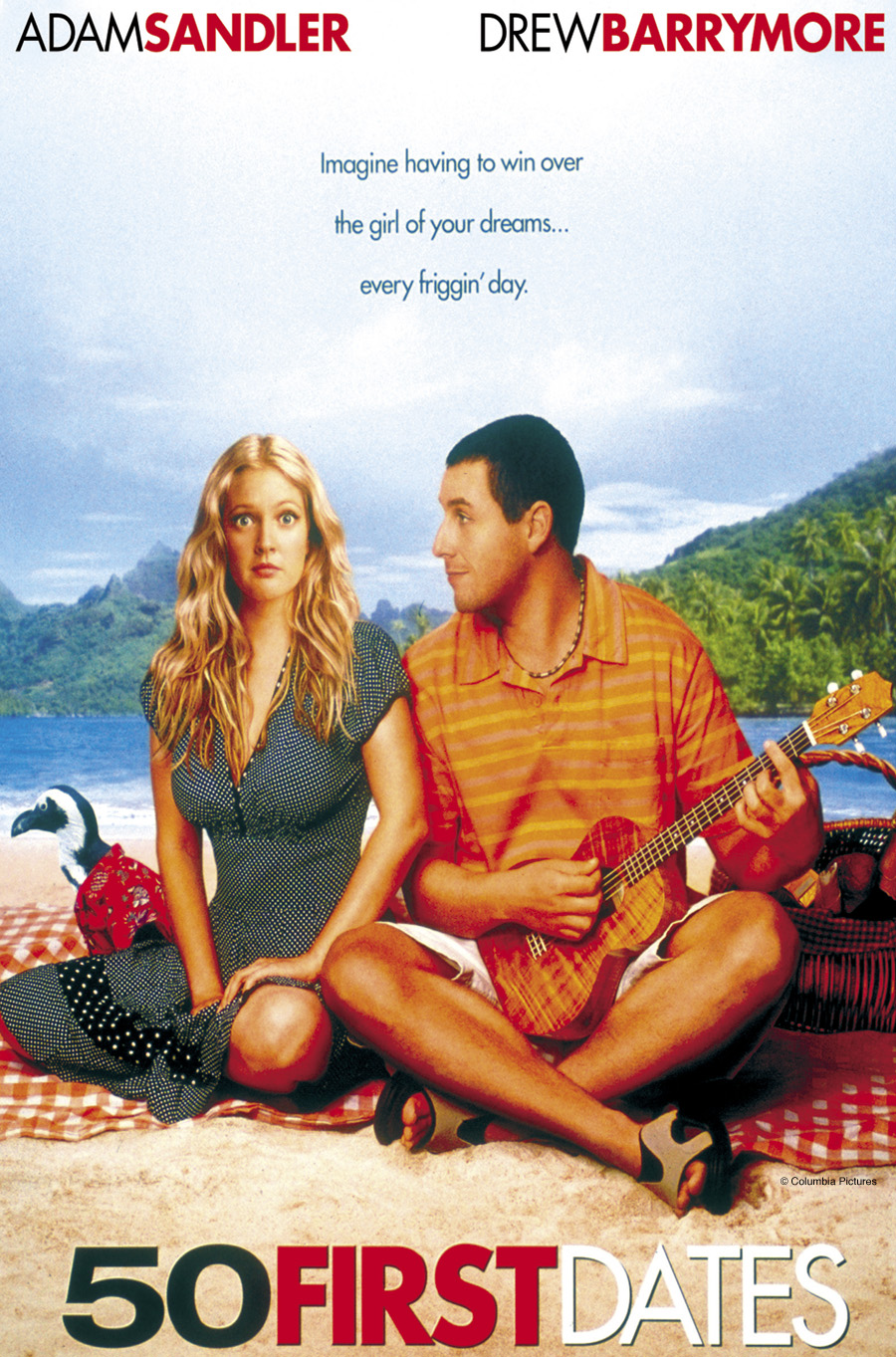 Displaying 13> Images For - 50 First Dates Cast...