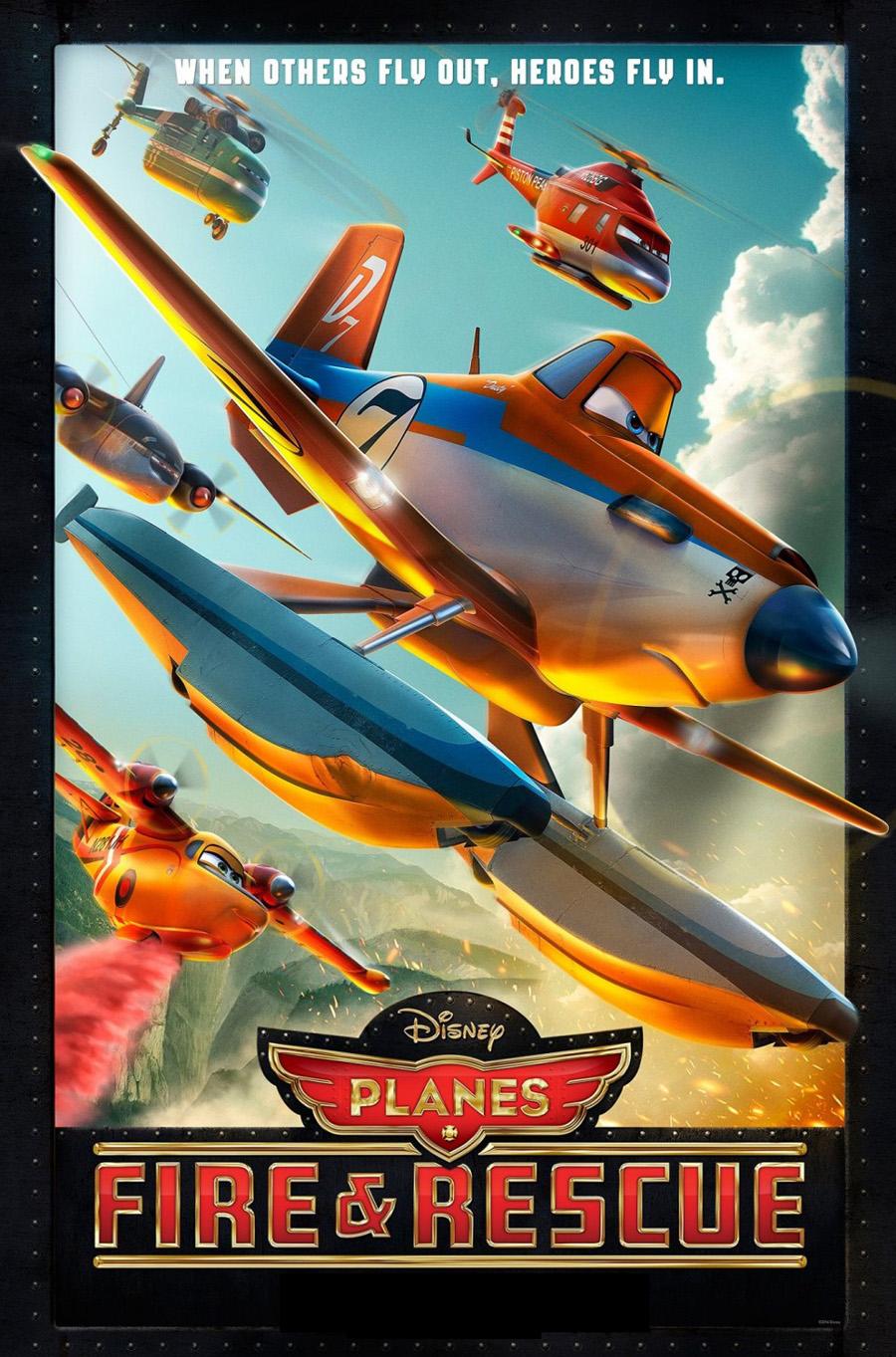 Planes-Fire & Rescue Movie Cover