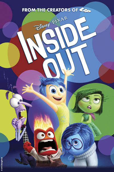 Inside Out Movie Flyer