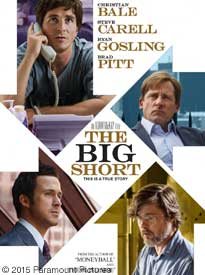 The Big Short - Movie Poster